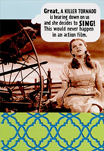 Dorothy and Killer Tornado Funny/Humorous Wizard of Oz Birthday ()
