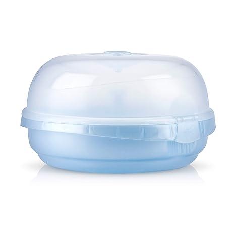 Amazon.com: Nuby Natural Touch Microondas Vapor sterilzer: Baby