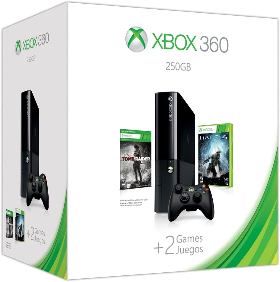 Xbox 360 E 250GB Holiday Value Bundle Xbox 360