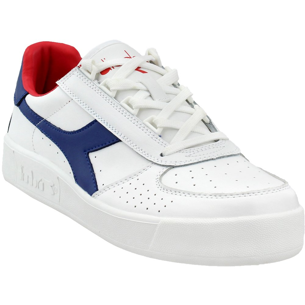 [ディアドラ] DIADORA B.ELITE 3 B077Y3Q3ML 12.5 D(M) US|White/Mazarine Blue/Poinsettia White/Mazarine Blue/Poinsettia 12.5 D(M) US