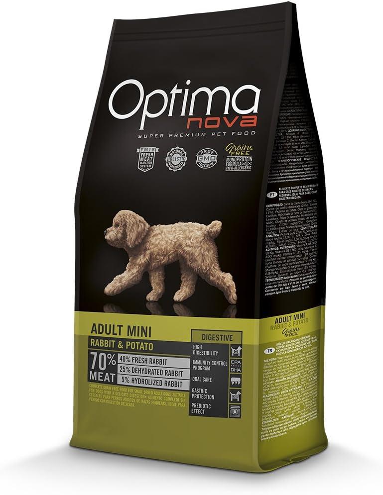 Optima nova Adult Mini Digestive Rabbit & Potato Grain Free 2000 g