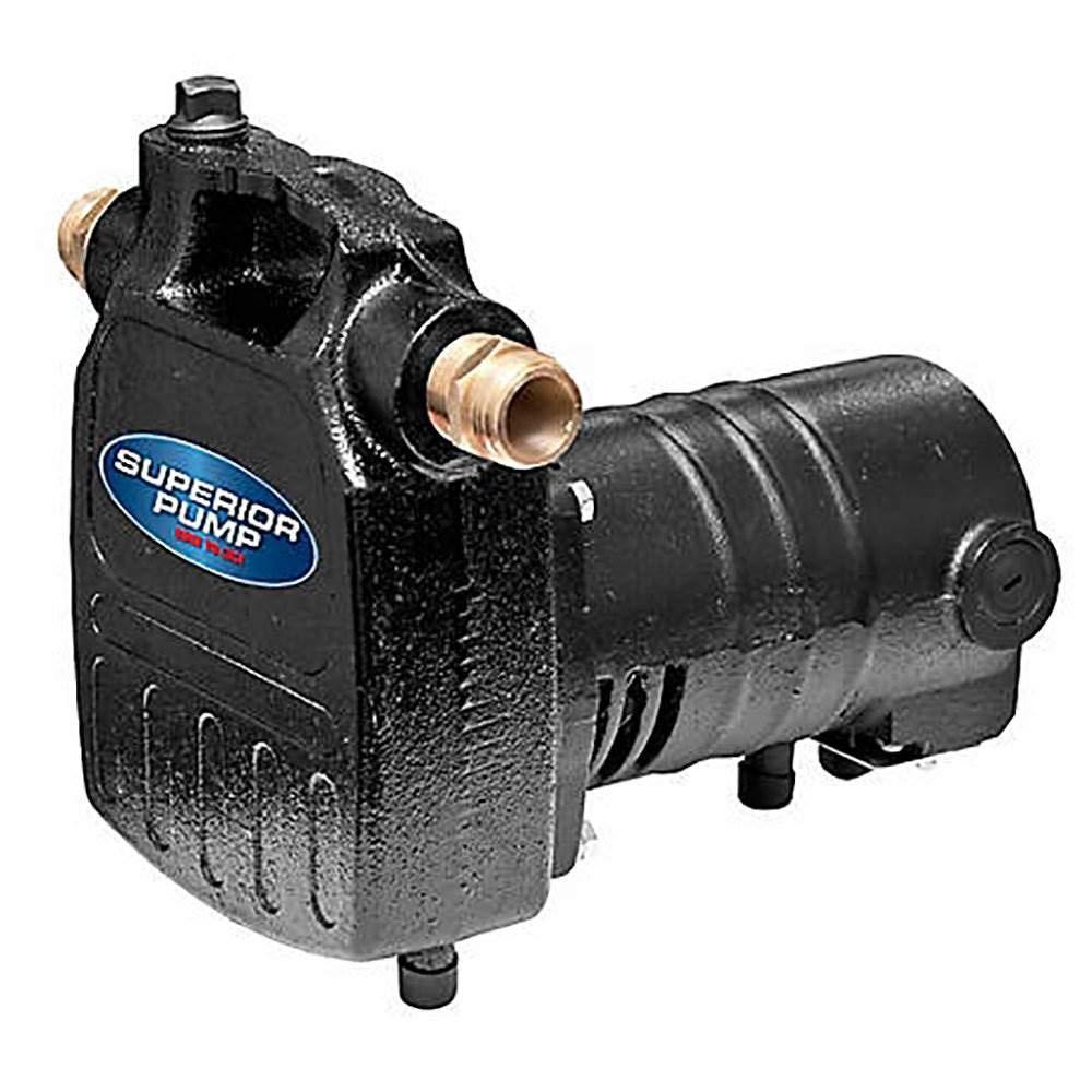 Superior Pump 90050 1//2 HP Heavy-Duty Cast Iron Utility Water Transfer Pump