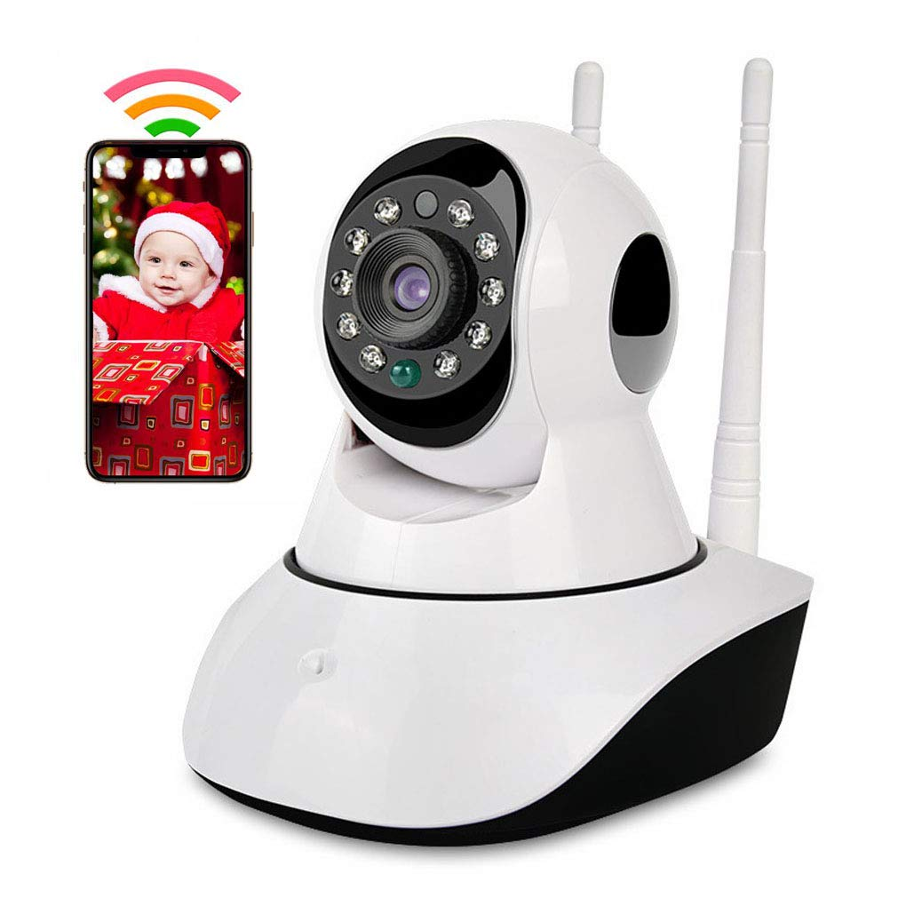 Baby Monitor Wireless 1080P Security Camera, 2.4G WiFi IP Camera Home Surveillance for Baby/Elder/Pet/Nanny/Shop Monitor Video Cam, Pan/Tilt, Two-Way Audio & Night Vision Camera by  (Image #1)