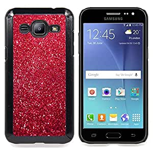 For Samsung Galaxy J2 / J200 Case , Navidad de la Navidad brillo de la decoración - Diseño Patrón Teléfono Caso Cubierta Case Bumper Duro Protección Case Cover Funda