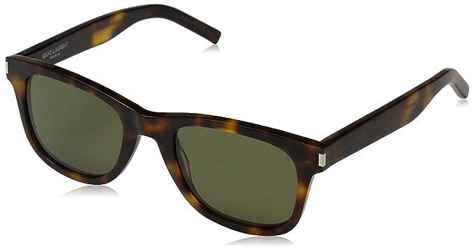 3ab0256b Yves Saint Laurent sunglasses (SL-51 019) Havana - Grey green lenses ...