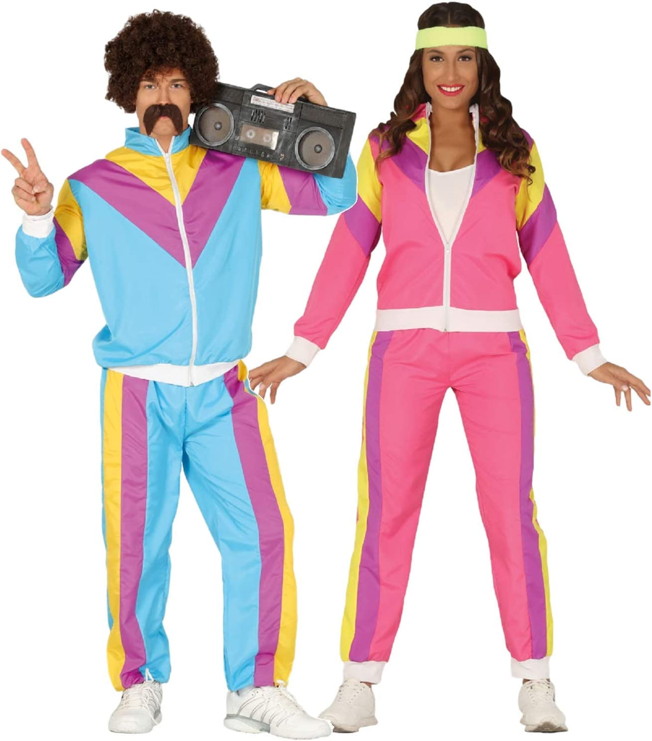 80s Shellsuit Couple for Adults