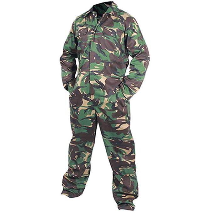 Army And Workwear Camuflaje ejército Adultos Mono Mono Ropa de Trabajo de Overol Militar DPM Paintball Caza: Amazon.es: Ropa y accesorios