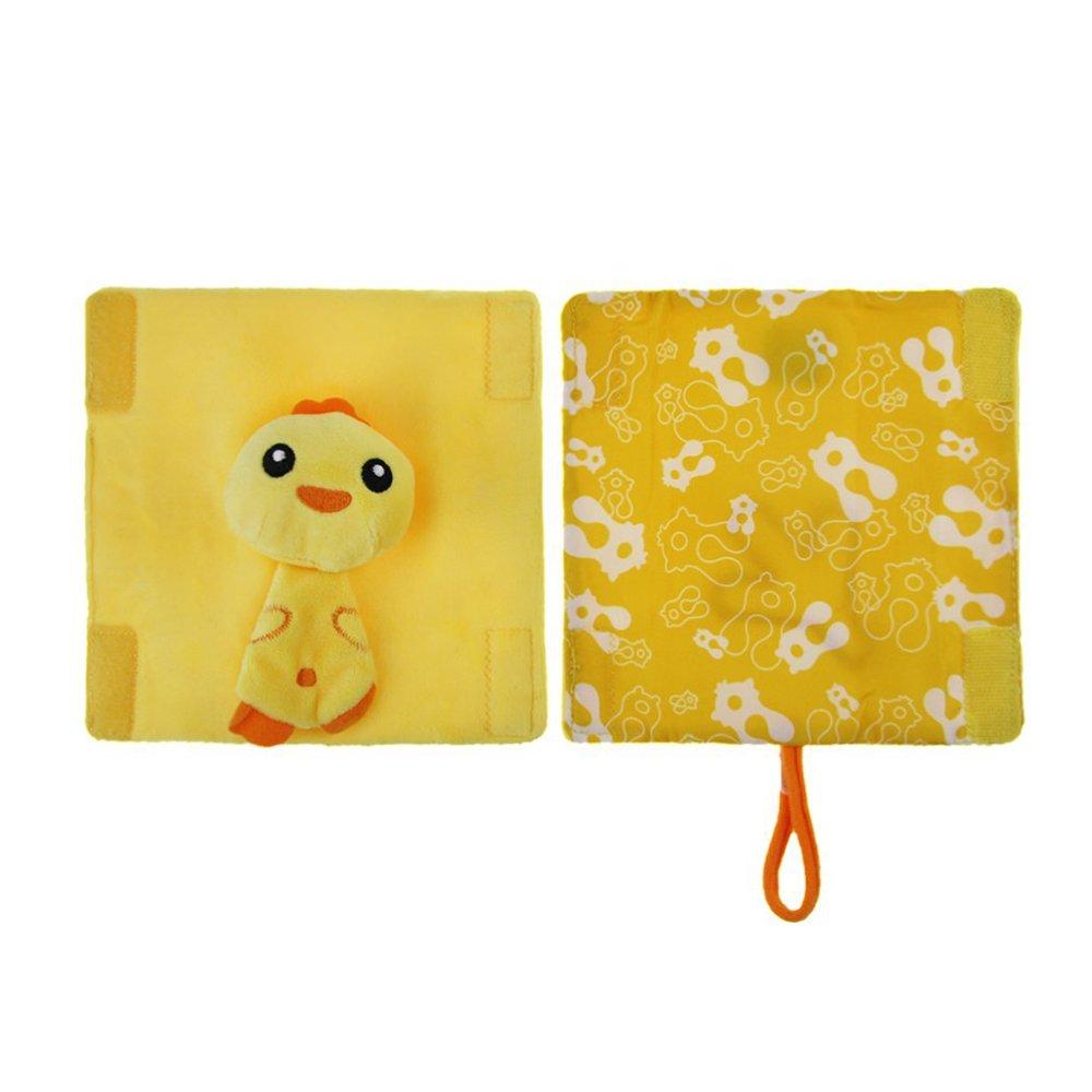 INCHANT Lovely Cartoon Animal Baby Infant Stroller Cushy Straps, Kids Children Plush Seat Belt Cover Shoulder Pad Cushion - ?2 pcs