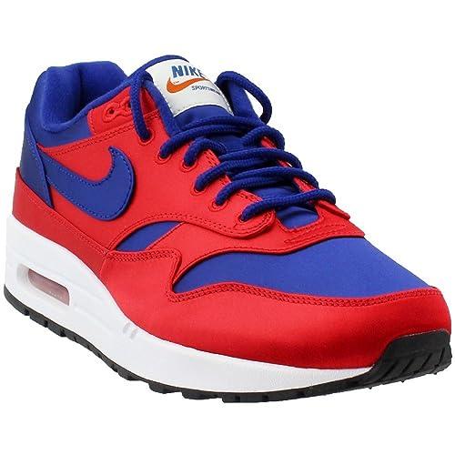nike air max 1 blue red