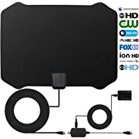 Masion-Market 50 to 70 Miles Range Indoor Amplified TV Antenna