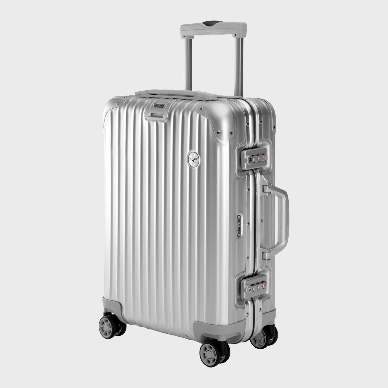 【RIMOWA×Lufthansa】(リモワ×ルフトハンザ航空) スーツケース トパーズ 34L アルミ [並行輸入品] B07GNTW99F