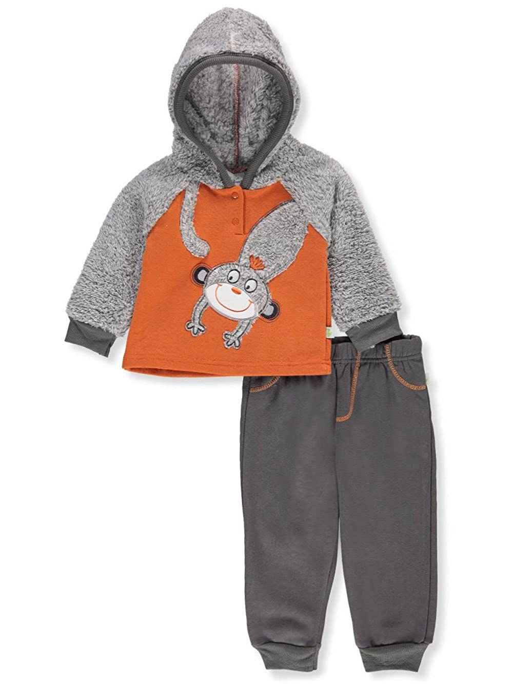 b220ac9fa Duck Duck Goose Baby Boys' 2-Piece Pants Set Outfit - Orange/Multi, 0-3  Months: Amazon.ca: Clothing & Accessories