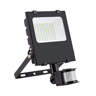 Foco Proyector LED SMD con Detector de Movimiento PIR 30W 120lm/W ...