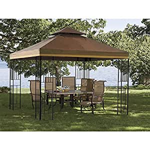 Sunjoy 110109253 Crawford Gazebo toldo de repuesto Set