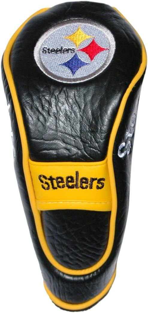 Team Golf NFL Pittsburgh Steelers Hybrid Golf Club Headcover, Hook-and-Loop Closure, Velour lined for Extra Club Protection : Sports Fan Golf Club Head Covers : Sports & Outdoors