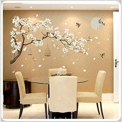 WALSTICKEL Adesivo Murale Sakura Wall Stickers Decal Camera Da Letto ...