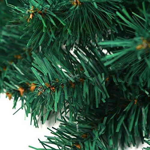 cherry Juilt 9 Feet 2 Pcs Christmas Garland Decorations Outdoor Indoor Artificial Pine Wreath Xmas Decorations for Wall Door Stairs by cherry Juilt (Image #6)