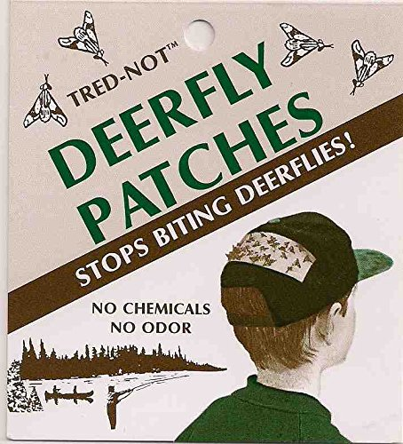 12 Deerfly Patches TredNot Deer Fly Strips by TredNot