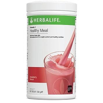 Herbalife Formula 1 Batido nutricional - Comida sana para perder de peso - FRESA - 550g: Amazon.es: Hogar