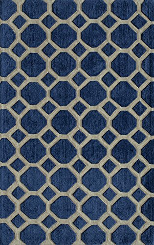 Hand Tufted Contemporary Rug - 6