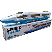 Blossom Bump and Go Speed Train with Light & Music / Metro Train Toy for Kids/ Bullet Train for Kids