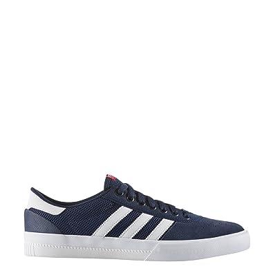 Adidas LUCAS PREMIERE mens skateboarding-shoes BB8541 -  CONAVY/FTWWHT/SCARLE, 6