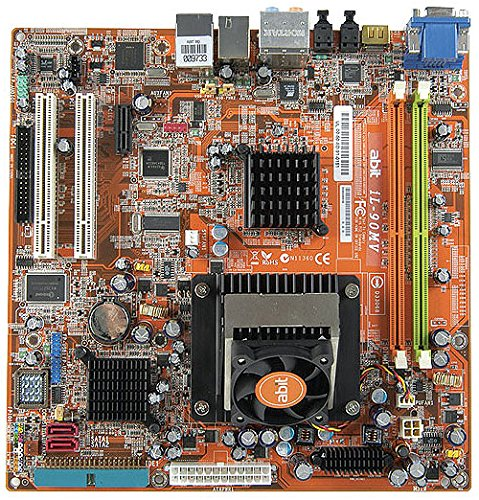 Abit IL-90MV MicroATX Multimedia Motherboard with Intel 945GT/ICH7MDH (Socket 478)