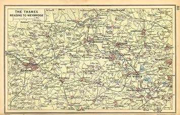 THAMES VALLEY Reading Maidenhead Windsor Slough Uxbridge Henley