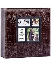 Ywlake Photo Picture Album 4x6 500 1000 Pockets Croco