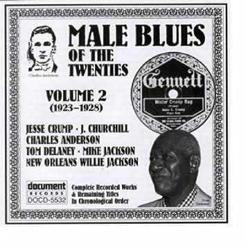 Male Blues Of The Twenties, Vol. 2