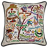 New Hampshire State Pillow by Catstudio