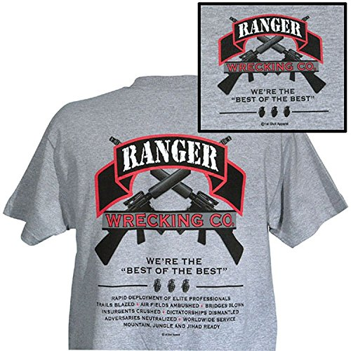 (U.S. Army Ranger Wrecking Co. We're the