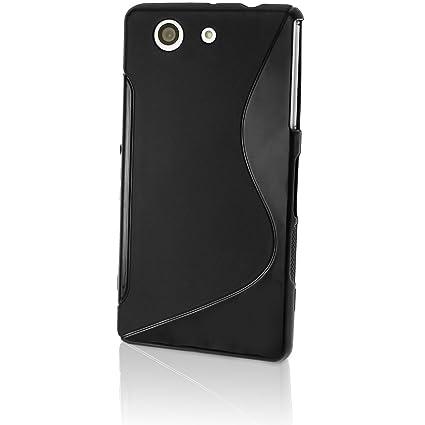 iGadgitz U3270 Funda Negro Funda para teléfono móvil - Fundas para teléfonos móviles (Funda, Sony, Xperia Z3 Compact D5803/D5833, Negro)