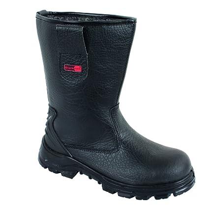 55267cc32ac Blackrock SF01B Fur Lined Safety Rigger Boot (Black) S1-P SRC,5 UK (38 EU)