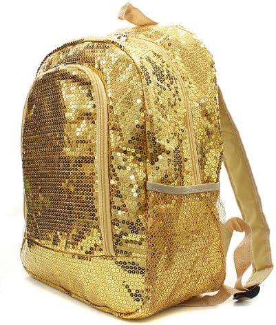 Sequins Bling Bling Backpack Gold