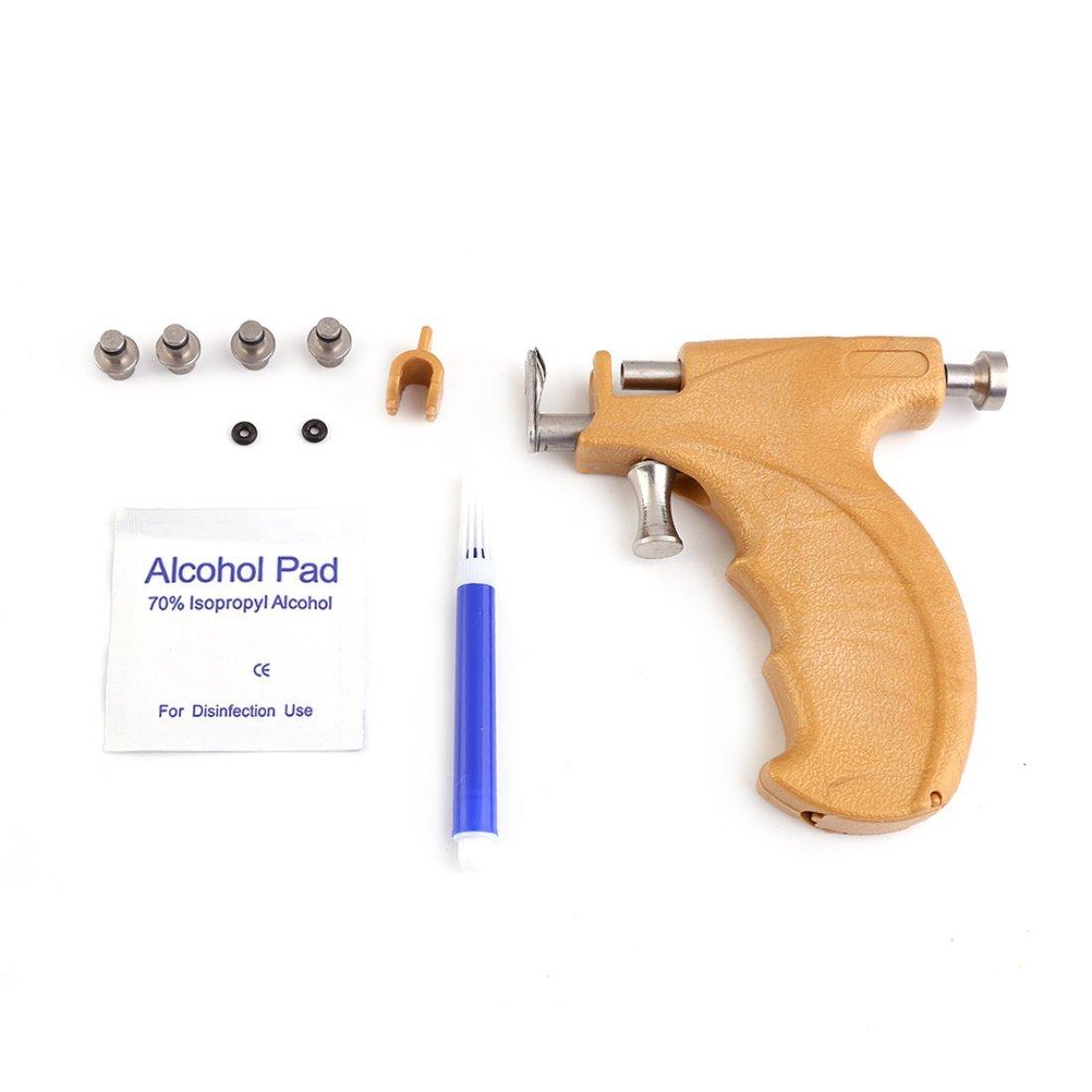 Professional Stainless Steel Ear Gun Safe Piercing Earrings Pierced Earrings In Painless Tool Beauty Accessories