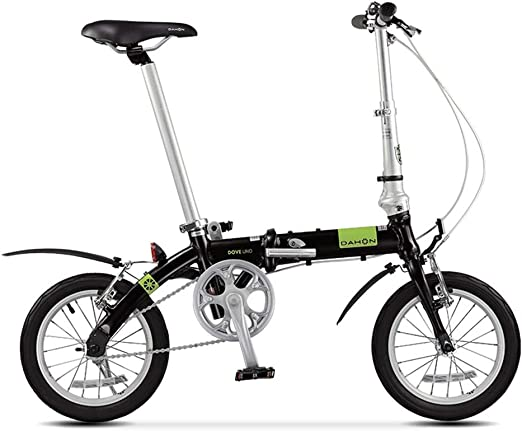 Paseo Bicicleta Plegable Mini Ultra Ligera 14 Pulgadas Bicicleta ...