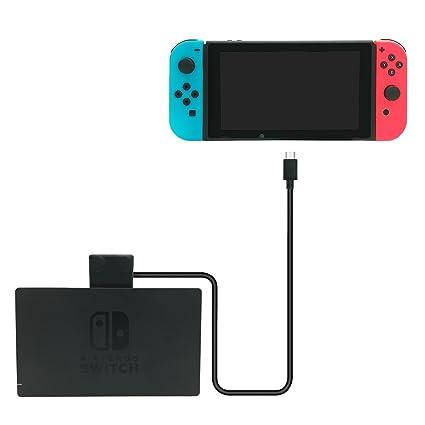 Amazon.com: Dock y cargador Extender Cable para Nintendo ...