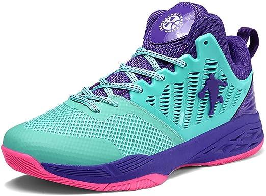 LFLDZ - Zapatillas de Baloncesto para Mujer y Hombres, par de ...