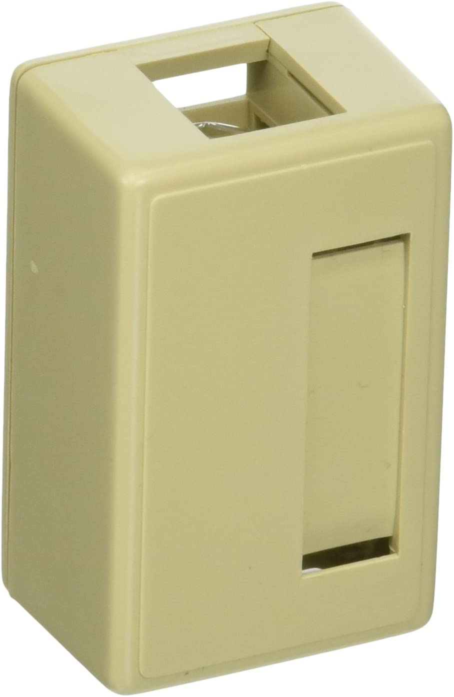 C2G 03849 C2G 12-Port Keystone Jack Surface Mount Box RJ-45 Network White A