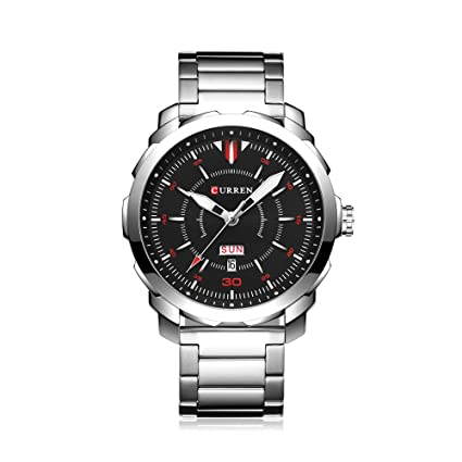 Curren Quartz Relojes Hombre, analógico Sport Reloj de pulsera Pantalla Fecha, Business de reloj