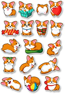 IT'S A SKIN Corgi Set   Vinyl Sticker Decal for Laptop Tumbler Car Notebook Window or Wall   Funny Novelty Decal