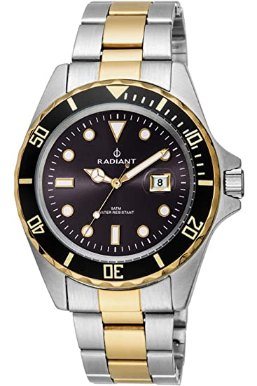 Reloj Radiant hombre New Navy Steel RA410205: Radiant New: Amazon.es: Relojes