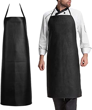 PVC APRON HEAVY DUTY WATERPROOF WORK INDUSTRIAL PROTECTIVE APRONS CHEF OILPROOF