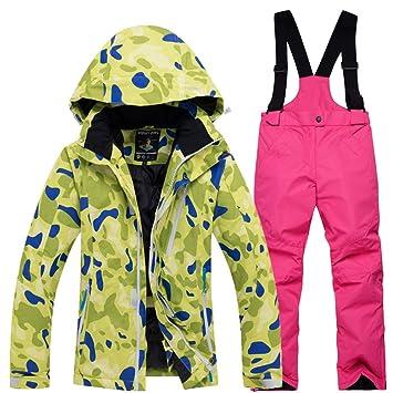 Traje de Esquí para Niños/Niñas Conjunto de ropa de esquí ...