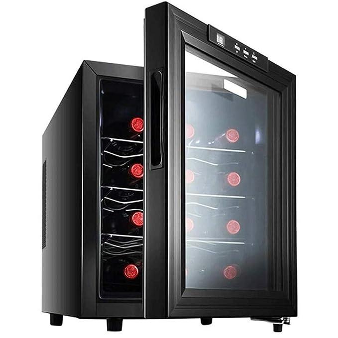 JJSFJH Hogar refrigerador de encimera Vino Cella Congelador ...