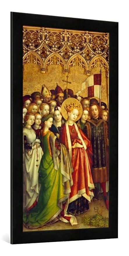 """Fotografía enmarcada de Stephan Lochner """"Tres rey Altar en dom a Colonia"""
