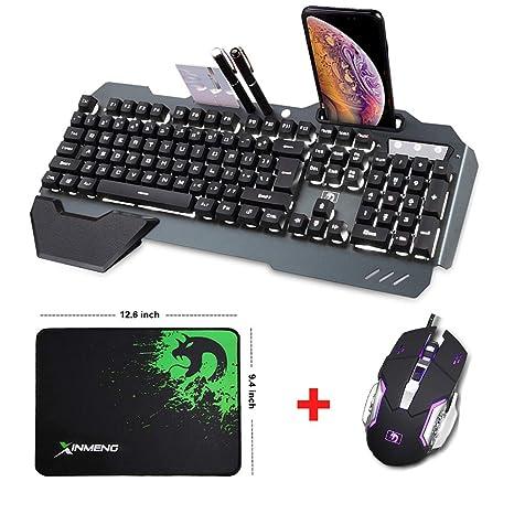 LexonElec@® Teclado Teclado Teclado Ratón Combo Gamer con Cable ...