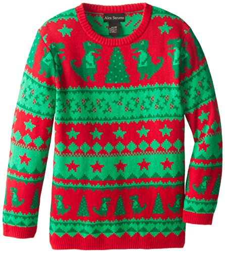 Ugly Christmas Sweater Dinosaur Fairisle