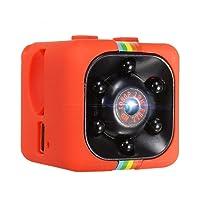 Pawaca Caméra Cachée 1080P Mini Caméra SQ11 Spy Caméra Web Portable Sport DV Caméra avec Vision Nocturne et Détection de Mouvement pour Caméra de Surveillance de Sécurité